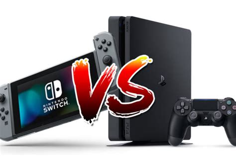 nintendo switch vs ps4 update sony besting nintendo in unit sales daily