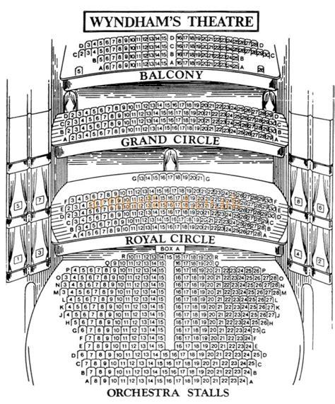 1920s Floor Plans wyndham s theatre charing cross road london wc2