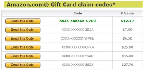 Amazon Gift Card Claim Codes - amazon gift card claim code generator