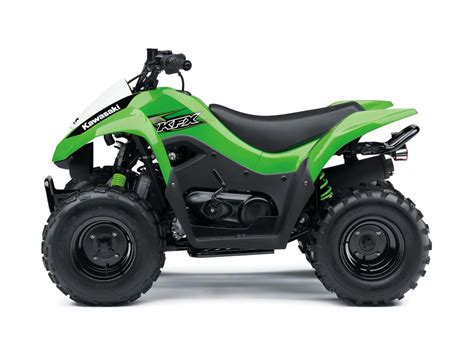 Kawasaki Atv by 2017 Kawasaki Kfx 174 Atv Model Range Atv Illustrated