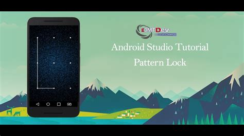 android pattern lock view android studio tutorial pattern lock view youtube