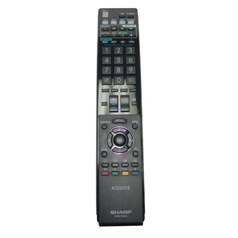 Remote Tv Sharp sharp replacement ga841wjsa remote for lc 46le821 lc46le821 television ebay