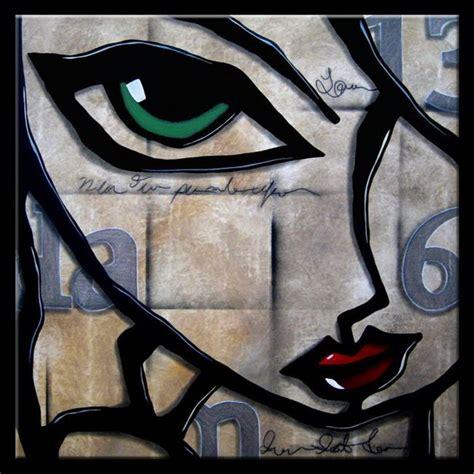 imagenes rostros abstractos cuadros pinturas oleos cuadros abstractos de caras