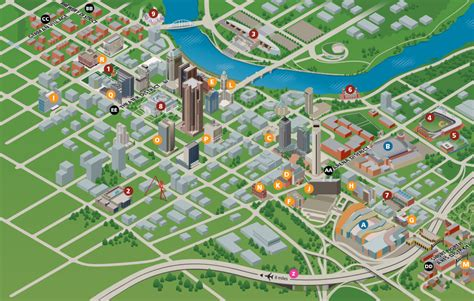 pitt cus map map of downtown columbus ohio maps map usa images free