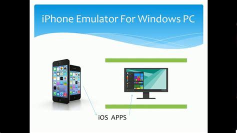 9 iphone windows ios emulator top 5 best iphone emulators for windows 7 8 10 version