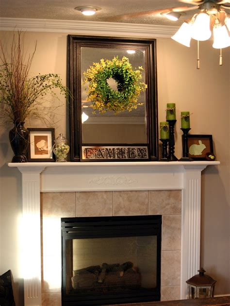 how to decorate a fireplace mantle decor for
