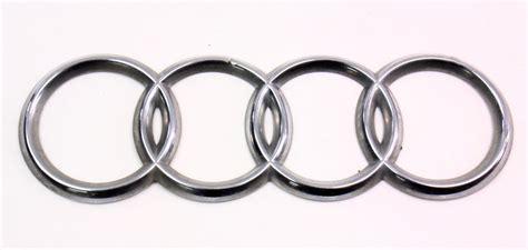Audi S4 Emblem by Trunk Rings Emblem Badge 96 02 Audi A4 S4 B5 Genuine