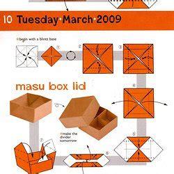 Origami Masu Box - origami treasure chest tutorial origami handmade
