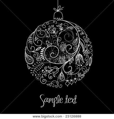 imagenes de navidad en negro y blanco vectores y fotos en stock de ilustraci 243 n de bola de