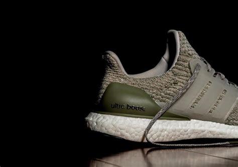 Adidas Ultra Boost 30 Olive Green Premiumsepatu Ultraboost adidas ultra boost wool sneakernews