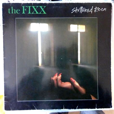 The Fixx Shuttered Room by Shuttered Room By The Fixx Lp With Blackcircle Ref