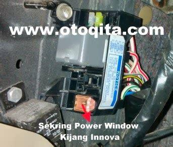 diagram kabel innova letak sekring power window kijang innova otomotif qita