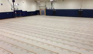Floor Protection by Protect A Sports Or Gym Hall Flooring