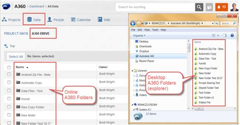 a360 drive help how to manage your data in a360 autodesk community
