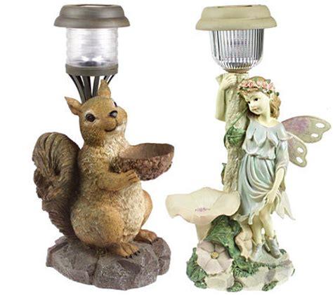 Squirrel Solar Light Squirrel Or Garden Solar Garden Light Qvc