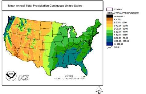 map us rainfall 3c maps that describe climate