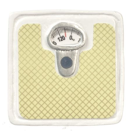 White Bathroom Scales by White Bathroom Scale S Dollhouse Miniatures