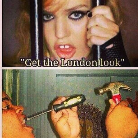 Get The Rimmel Look Meme - funny get the london look fashion shenanigans
