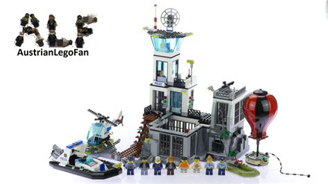 Lego City Prison Island 60130 lego city 60130 prison island lego speed build review