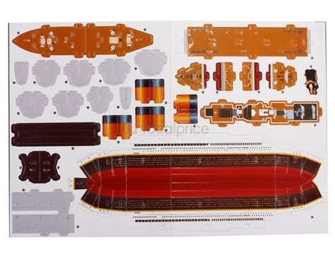 Papercraft Titanic - paper craft new 798 papercraft titanic template