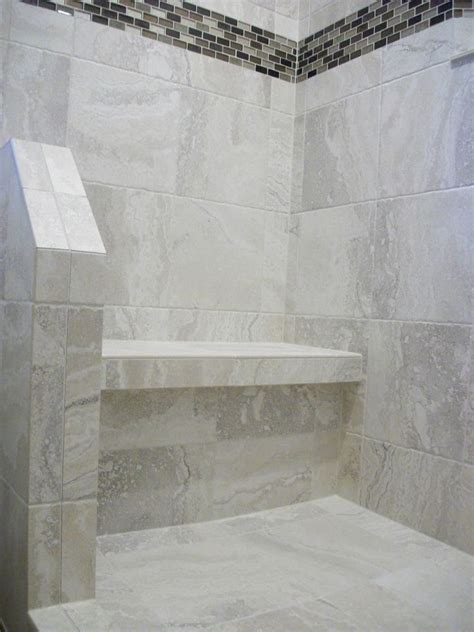 shower bench seat tile white porcelain tile shower n koehn tile el co tx