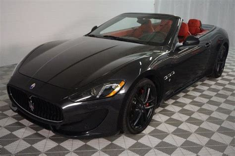 Used Maserati Granturismo Convertible by 2015 Used Maserati Granturismo Convertible 2dr Sport At