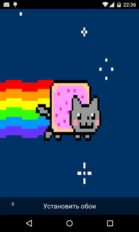 moving wallpaper nyan cat nyan cat live wallpaper android apps on google play