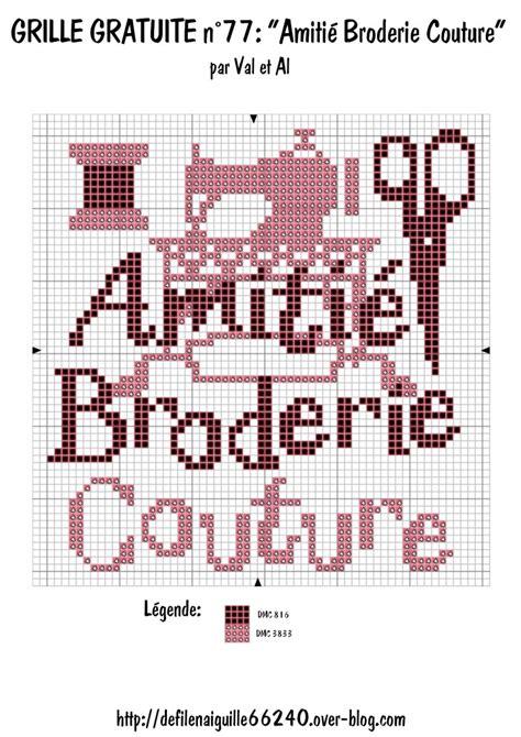Broderie Points Comptés Grilles Gratuites by Grille Broderie Gratuite Imprimer