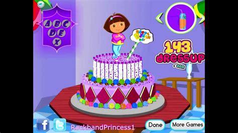 play cake games online for free mafacom dora online games to play free dora cooking games dora