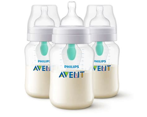 Avent Classic Bottle 3x125ml Anti Colic anti colic bottle with airfree vent scf403 34 avent