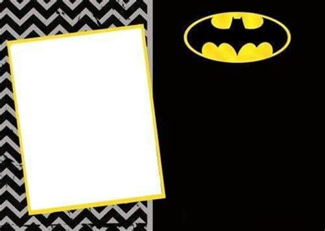 Batman Birthday Card Template by Best 25 Batman Invitations Ideas Only On