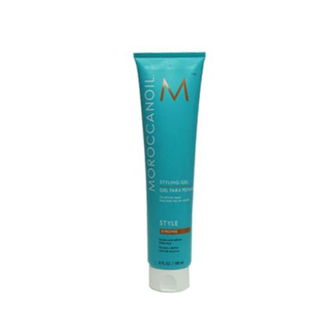 styling gel strong moroccanoil moroccan oil style styling gel strong 6 oz ny hair products