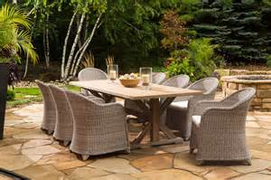 the teak collection traditional patio furniture and