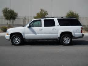 2002 chevrolet suburban z71 4x4 loaded leather 3rd row