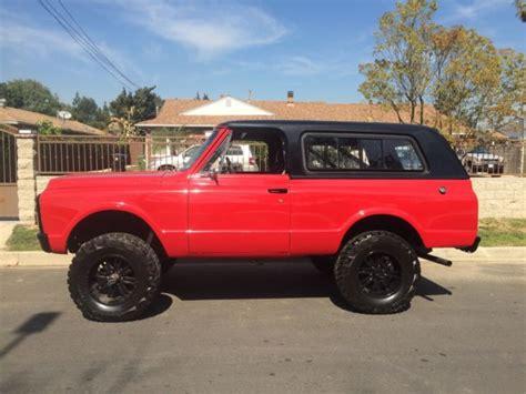 Californa Blazer 1972 chevy k5 blazer 4x4 clean 383 stroker california
