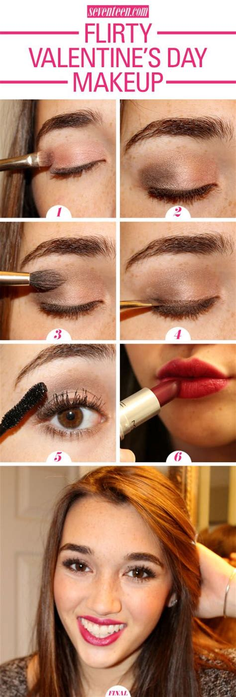 valentines day makeup tutorial easy s day makeup tutorial anyone can do easy