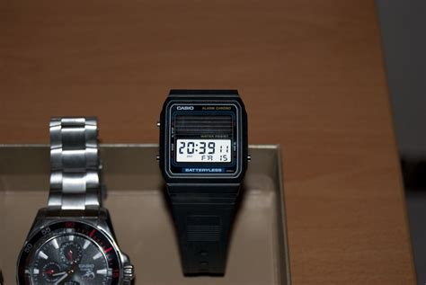 fb watch browse all casio batteryless photos
