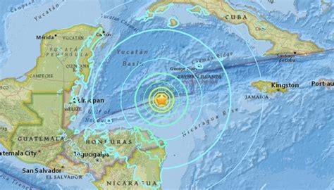 earthquake atlantica honduras quake felt in yucat 225 n tsunami warning called off