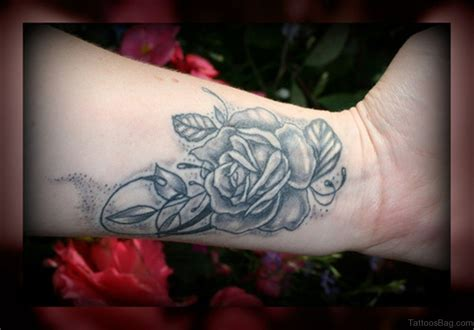 nice rose tattoos 15 delightful black tattoos on wrist