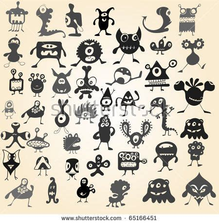 many doodle monsters images 1000 ideas about doodle on doodle