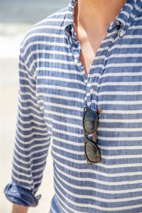 striped linen shirtmen clothing style menstyle