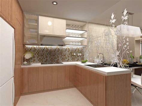 Kabinet Dinding Dapur 100 motif keramik dan warna cat dapur minimalis keren 2016