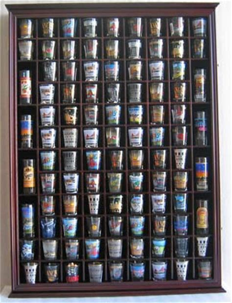 shot glass curio cabinet 100 shot glass display case wall cabinet rack with door