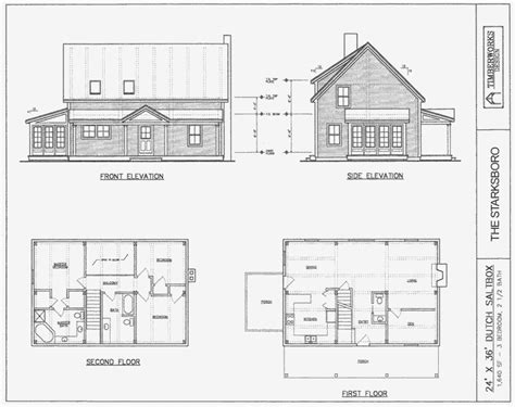 saltbox house plans designs post beam house plans and timber frame drawing packages