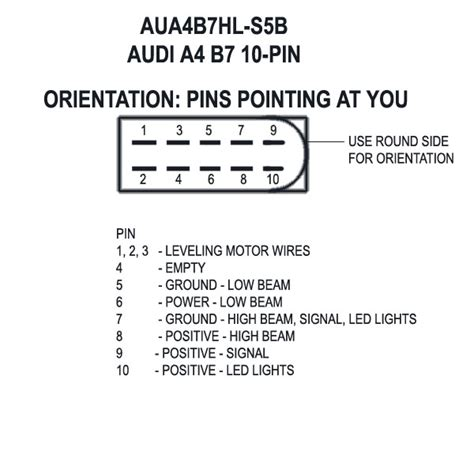 b8 headlight wiring diagram