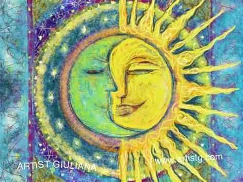 Morning Sun Mini Brush Motif sun artistg