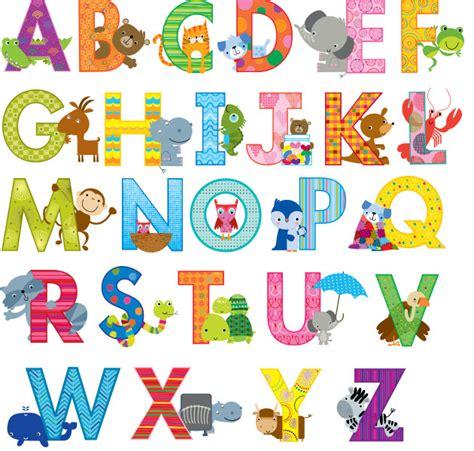 Sticker Cutting Hurufabjad 2 stickers 136 animal alphabet phonics letter stickers