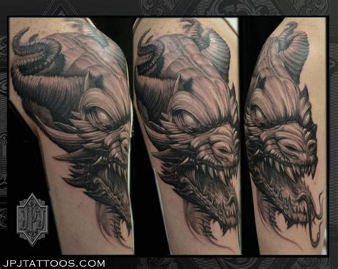 tattoo dragon fantasy arm fantasy dragon tattoo by jpj tattoos