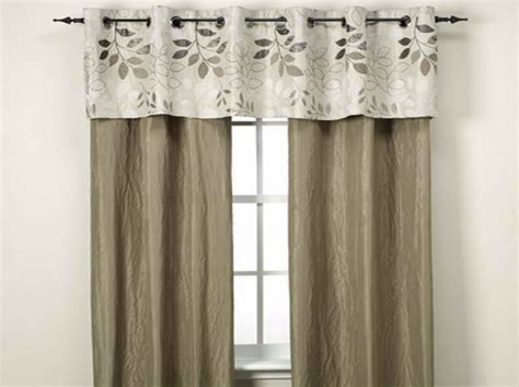 modern curtain styles sewing tips simple curtain with patterned border life