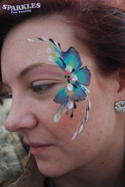 flower makeup painting pin by ingeschminkt on paint schmink inspiratie